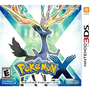 Pokemon X (Nintendo 3DS), Console Video Game