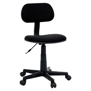 Task Chair Black - Room Essentials, Ebony