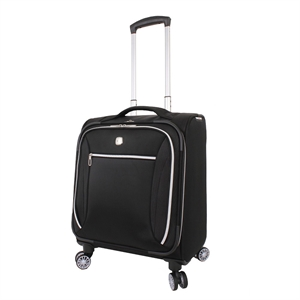 SwissGear Checklite 17 Business Companion Carry On Luggage - Black