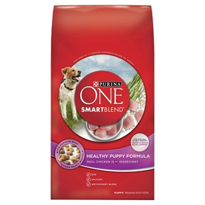 Purina One SmartBlend Healthy Puppy Formula Puppy Premium Dry Dog Food 8lb Bag