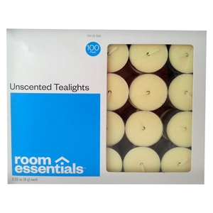 Tealight Candles 100 pack - Ivory - Room Essentials