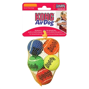 Kong Air Dog Squeaker Fetch Toy - XS (5 Count)