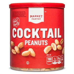 Cocktail Peanuts 16 oz - Market Pantry