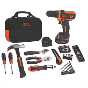 Black+decker 12V Max* Lithium Drill/Driver Project Kit