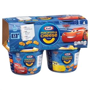Kraft Spongebob Squarepants Macaroni & Cheese Dinner 1.9 oz - 4 pk