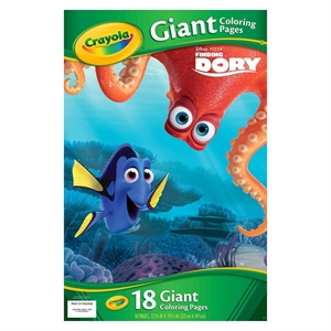 Crayola Giant Coloring Pages - Finding Dory