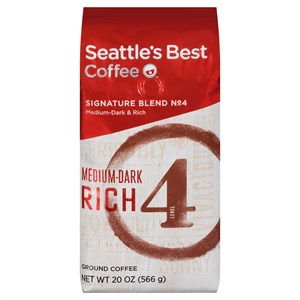 Seattle's Best Medium Dark & Rich Ground Coffee 20oz