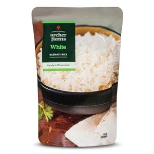 White Basmati Rice 8.8oz - Archer Farms
