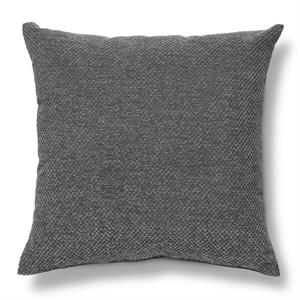 """Gray Heather Chenille Throw Pillow (18""""X18"""") - Threshold"""