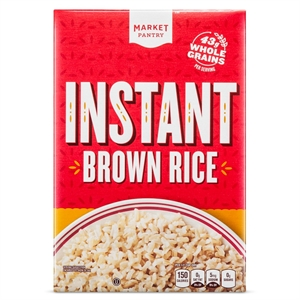 Instant Brown Rice 14 oz - Market Pantry