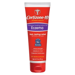 Cortizone 10 Intensive Healing Lotion for Eczema Itchy and Dry Skin - 3.5 oz