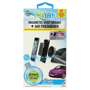 FreshTech Magnetic Vent Mount, Black