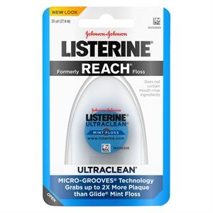 Listerine Ultraclean Floss Mint - 30 YD