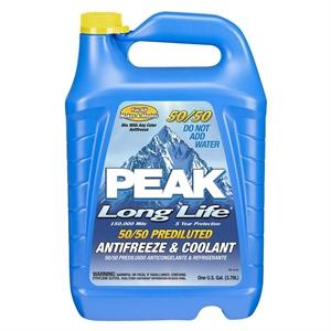 Peak 50/50 Long Life Prediluted Antifreeze & Coolant 1-gal.