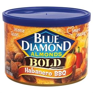 Blue Diamond Almonds Bold Habanero Bbq 6 oz