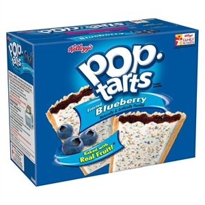 Kellogg's Pop-Tarts Frosted Blueberry Pastries 12 ct