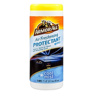 ArmorAll Cool Mist Air Freshening Protectant Wipes 25-ct.