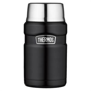 Thermos 24oz Stainless King Food Jar, Black