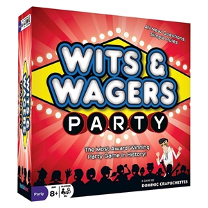 Wits & Wagers Party Game, Board Games