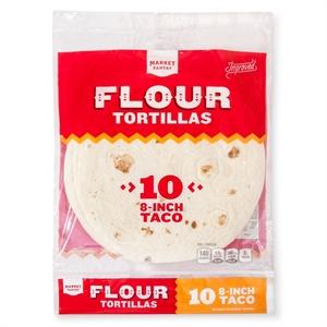 8 Flour Tortilla 10 Count - Market Pantry