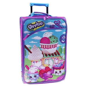 Shopkins Luggage with Eva Mold, Multi-Colored