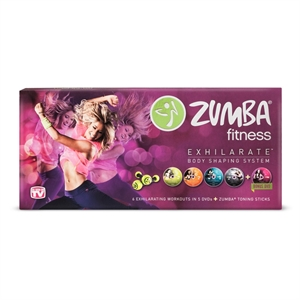 Zumba Total Body Adjustable Weights Multi-colored
