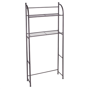 Target Home Oil Rubbed Metal Over Toilet Space Saver Etagere - Bronze - Threshold, Red