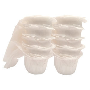 EZ-Cup Filters, White, Coffee Maker Parts and Accessories