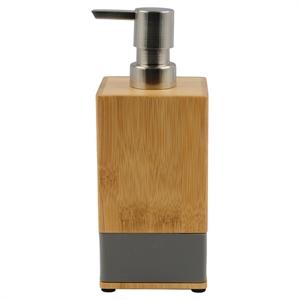 Soft Bamboo Soap Pump - Gray - Room Essentials, Grey