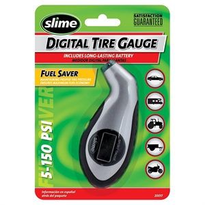 Slime Sport Digital Tire Gauge with Light