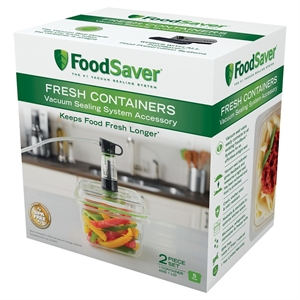 FoodSaver Fresh 5 Cup Container - FAC5GB, Clear