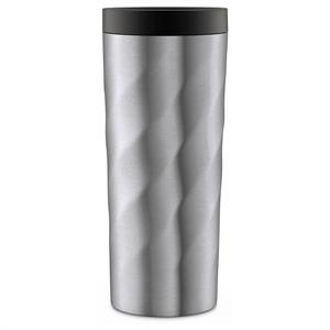 Ello Hammertime 18oz Stainless Steel Travel Mug - Nickel Twist, Silver