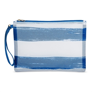 Women's Soft Mesh Pouch Blue - Mossimo Supply Co.