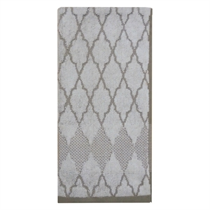 Hand Towel Ogee Grey & White - Threshold, Sour Cream