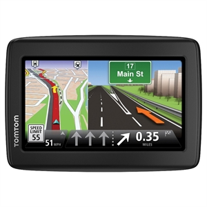 TomTom - VIA 1415M Gps with Lifetime Map Updates - Black/Gray (1EN405210)