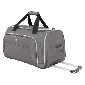 SwissGear Checklite 22 Wheeled Duffel Bag - Charcoal, Grey