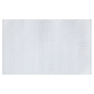 Dotted Line Bath Rug White - Threshold, Sour Cream