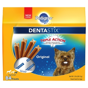 Pedigree Dentastix Toy/Small Fresh Flavor Treat - 32oz