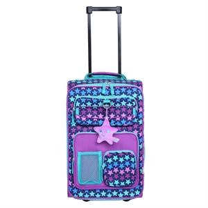 Crckt Kids Carry On Upright suitcase - Star Purple
