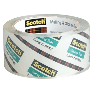 Scotch Clear Mailing and Storage Tape 48mmx40m