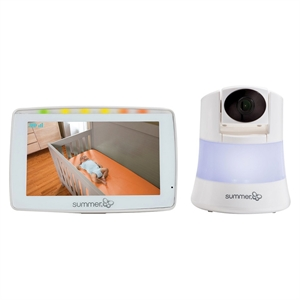 Summer Infant Wide View 2.0 Digital Video Baby Monitor with 5 inch screen, White