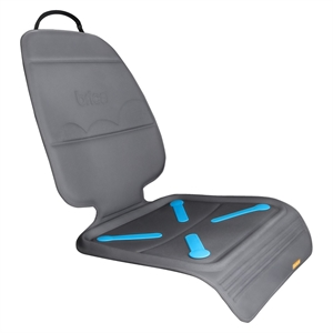 Brica Seat Guardian Car Seat Protector -Gray, Grey