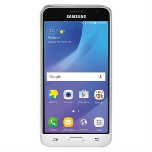 Consumer Cellular Samsung Galaxy J3, White