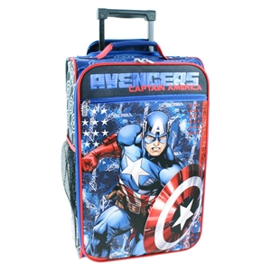Marvel Captain America 18 Carry On Luggage - Blue