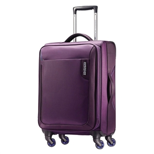 American Tourister Applite 20 Carry On Spinner Luggage - Purple