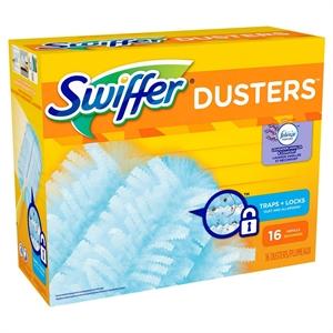 Swiffer 180 Dusters Refills with Febreze Lavender Vanilla & Comfort Scent, 16 Count