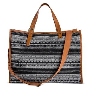 Women's' Printed Weekender Handbag Black - Mossimo Supply Co.