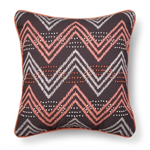 Gray & Pink Chevron Throw Pillow - Xhilaration, Gray&pink