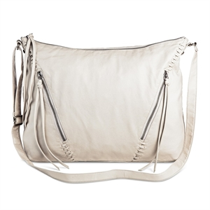 Cross Body Bags Mossimo Supply Co Light Grey Solid, Women's