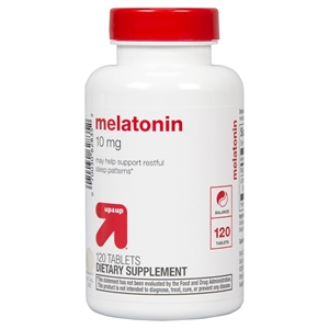 Melatonin 10 mg Tablets 120 Count - up & up